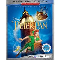 Image of Peter Pan Blu-ray Combo Pack Multi-Screen Edition # 1