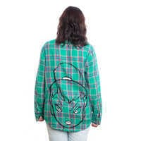 Image of Tinker Bell Flannel Shirt for Adults by Cakeworthy # 6