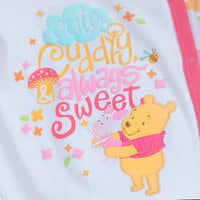 Image of Winnie the Pooh and Piglet Footed Stretchie Sleeper for Baby # 2