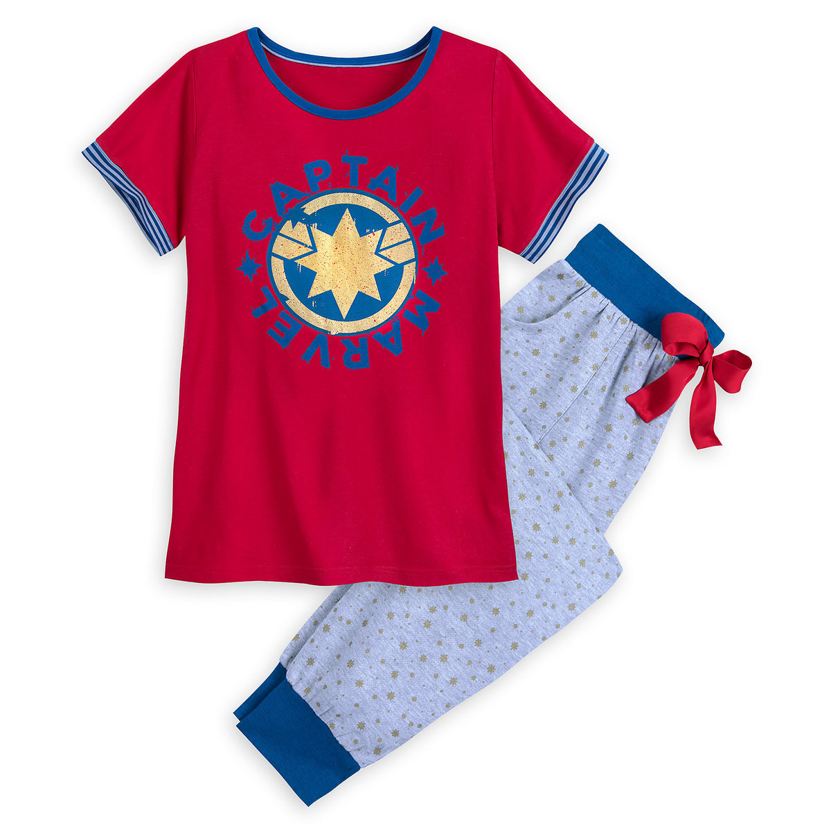 7364705d Product Image of Marvel's Captain Marvel Pajama Set for Women # 1