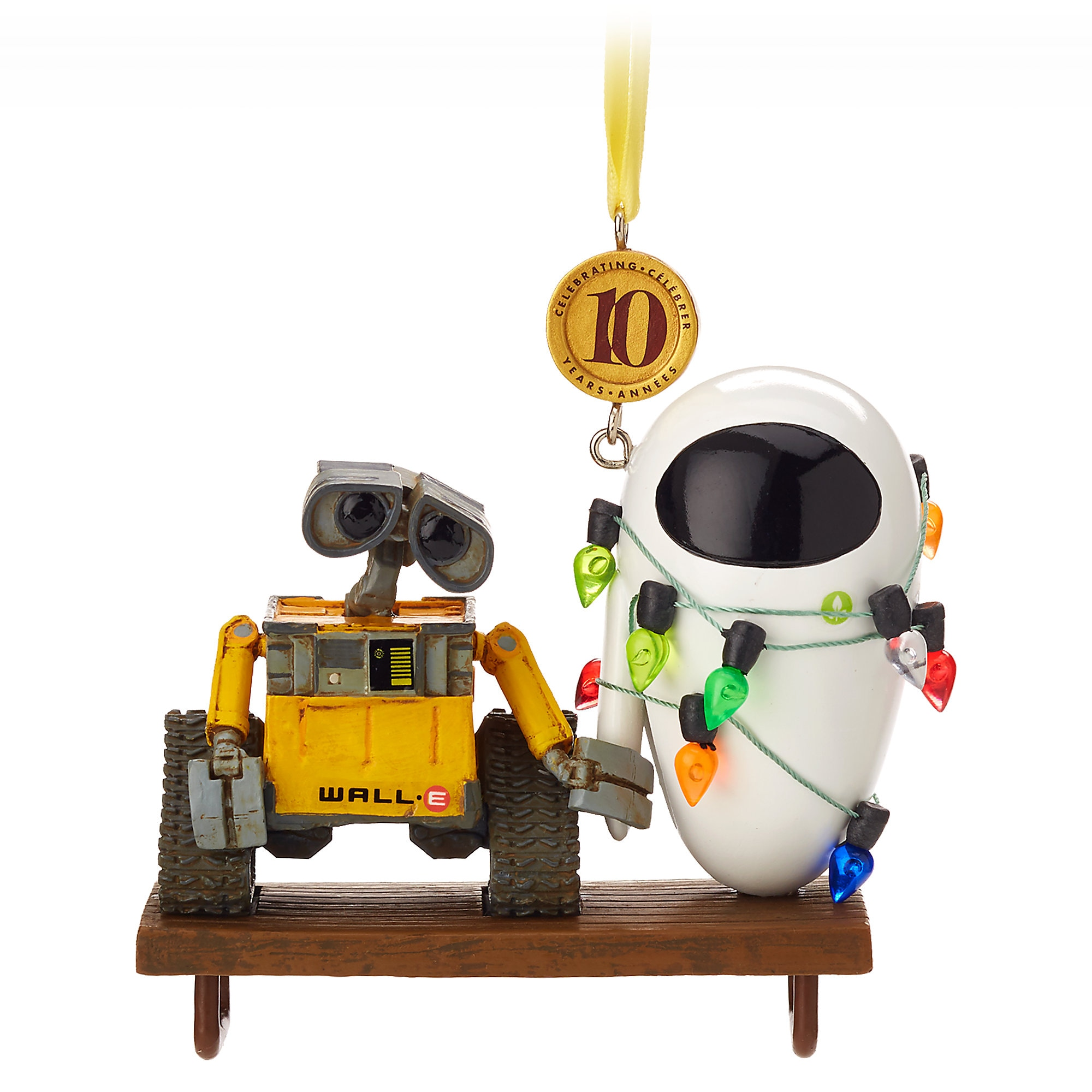 WALL•E and E.V.E. Legacy Sketchbook Ornament - Limited Release