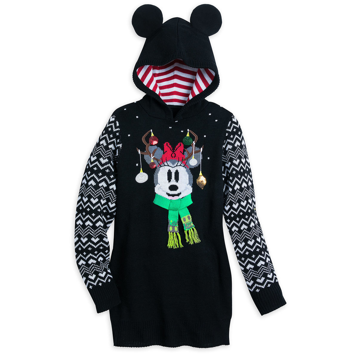 Minnie Mouse Holiday Sweater Dress For Women Shopdisney