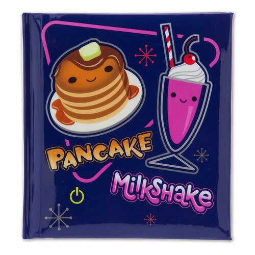 Pancake And Milkshake Light Up Journal Ralph Breaks The