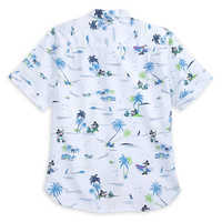 Image of Mickey Mouse Button Shirt for Men by Tommy Bahama - White # 3