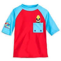 Image of Mickey Mouse Rash Guard for Boys # 1