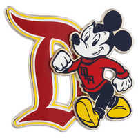 Image of Mickey Mouse Collegiate Pin - Disneyland # 1
