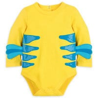 Image of Flounder Costume Bodysuit for Baby - The Little Mermaid # 3