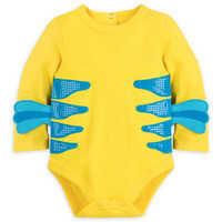 Image of Flounder Costume Bodysuit for Baby - The Little Mermaid # 3