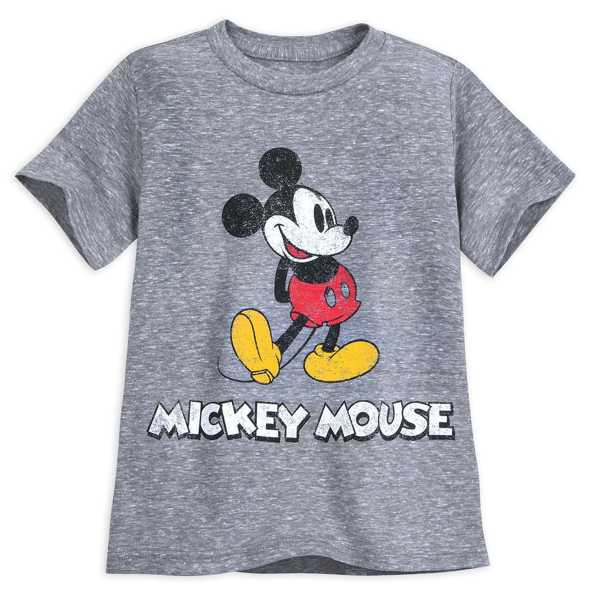 b5dff0a15d0 Product Image of Mickey Mouse Classic T-Shirt for Boys - Gray   1