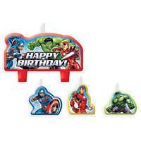 Image of Avengers Birthday Candle Set # 1