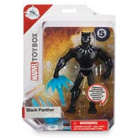 Image of Black Panther Action Figure - Marvel Toybox # 4