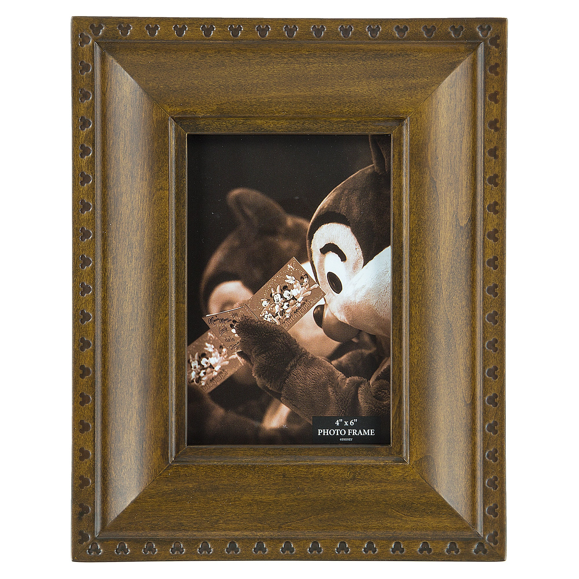Mickey Mouse Icon Wood Photo Frame - Small