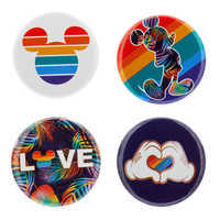 Image of Rainbow Disney Collection Mickey Mouse Button Set # 1