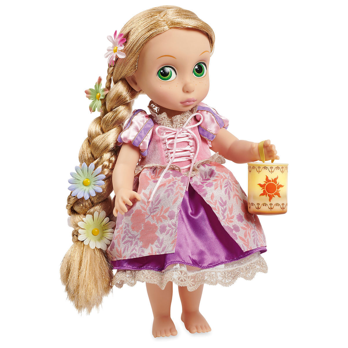 Disney Animators Collection Rapunzel Doll Special Edition Fiction Peplum Dress Purple Product Image Of 1
