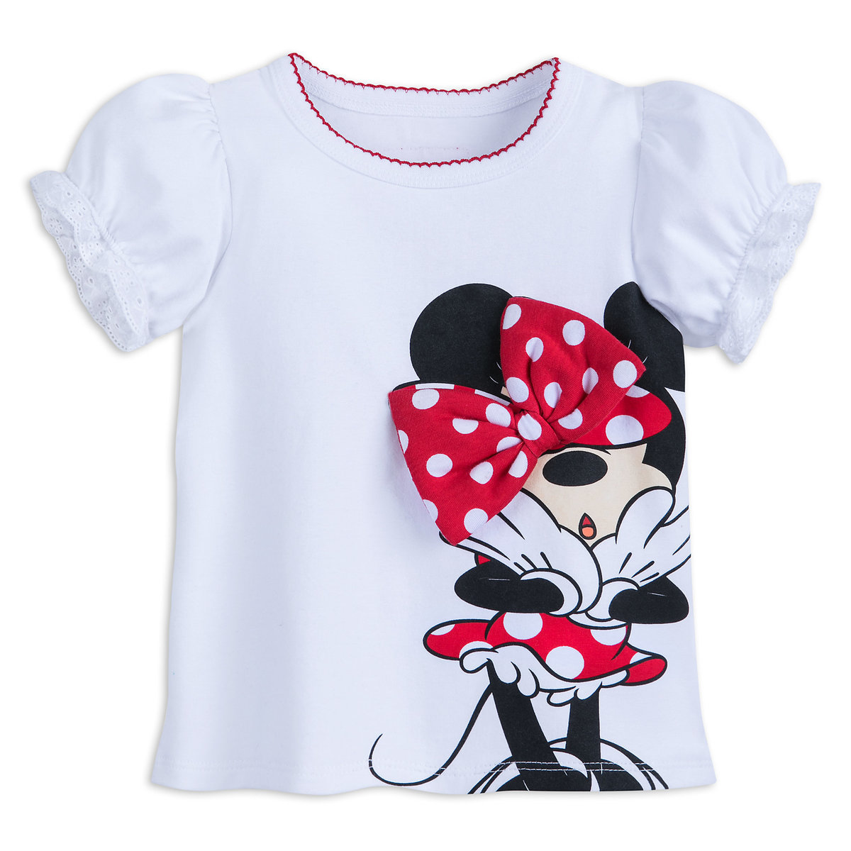 65c122633465 Product Image of Minnie Mouse Bow T-Shirt for Girls - Walt Disney World #