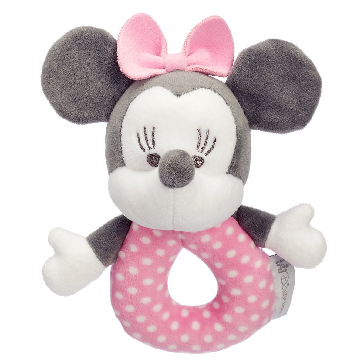 Minnie Mouse Plush Rattle For Baby Shopdisney
