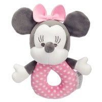 Minnie Mouse Plush Rattle for Baby