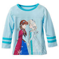 Image of Frozen Long Sleeve T-Shirt for Girls # 1