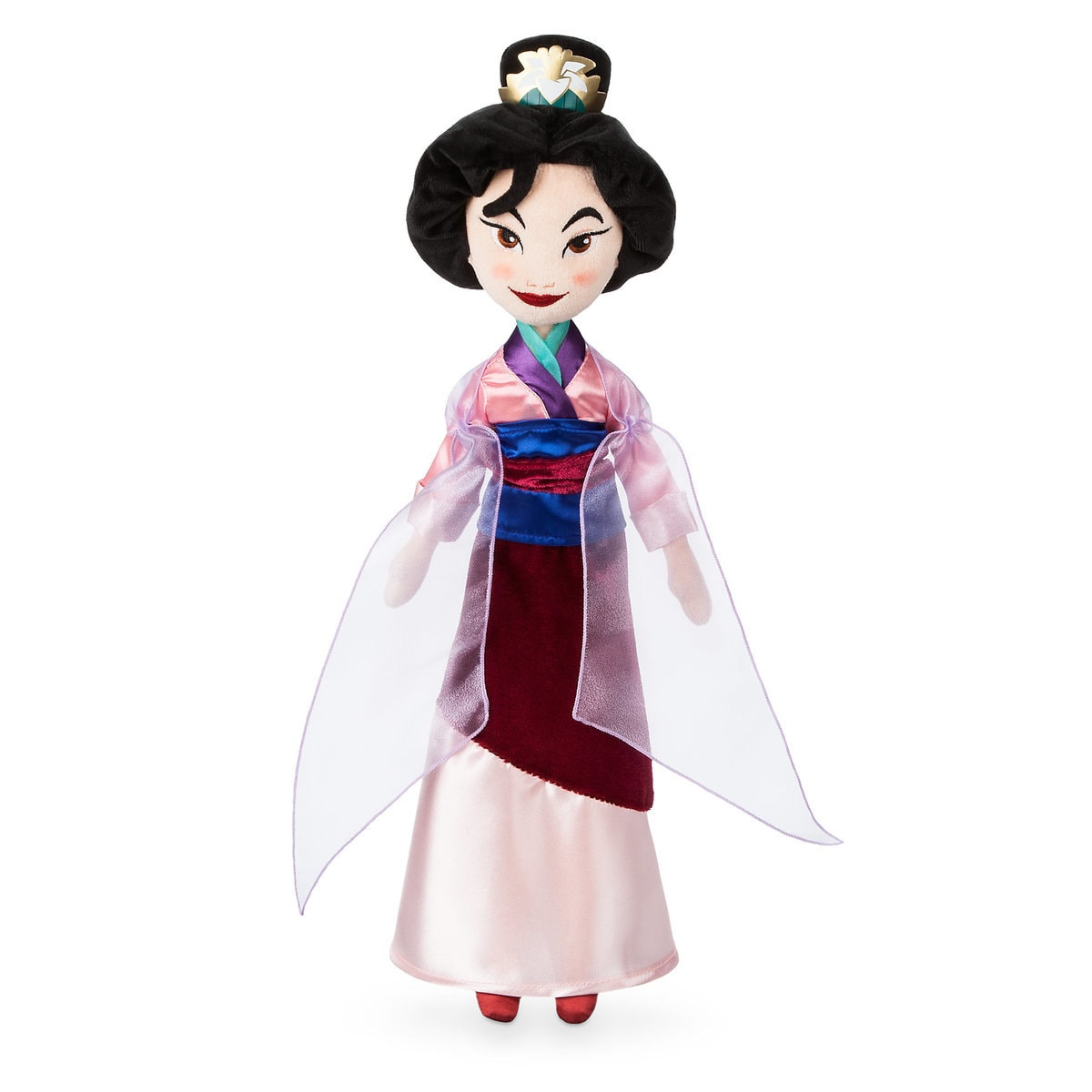 Mulan plush doll for toddlers | Top 25 Disney Gift Ideas for Toddlers featured by top US Disney blogger, Marcie and the Mouse