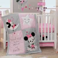 Image of Minnie Mouse Crib Bedding Set by Lambs & Ivy # 2