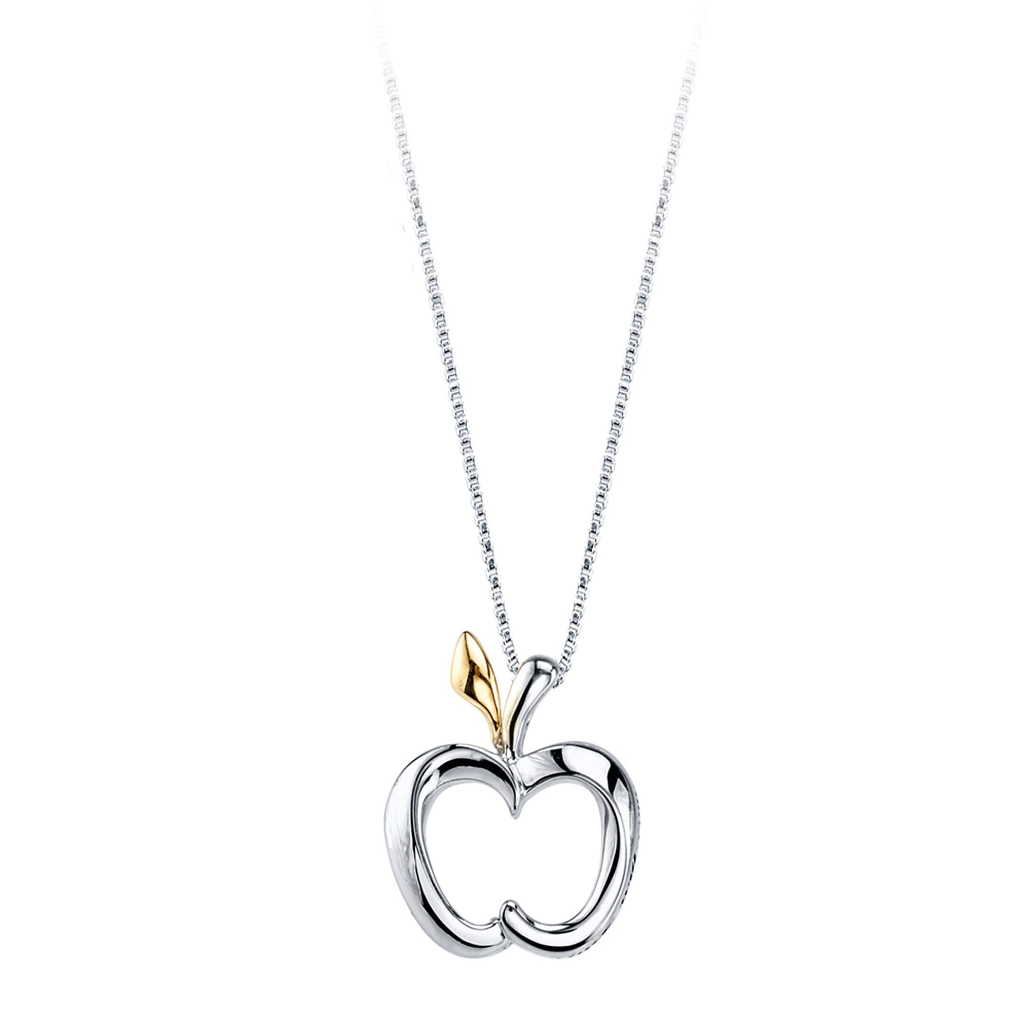 Snow White Apple Necklace for Women
