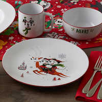 Image of Minnie Mouse Holiday Cereal Bowl # 5