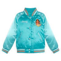 Image of Moana Varsity Jacket for Girls - Personalizable # 1