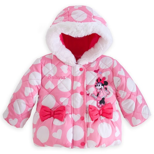 Minnie Mouse Puffy Jacket for Baby ? Personalizable