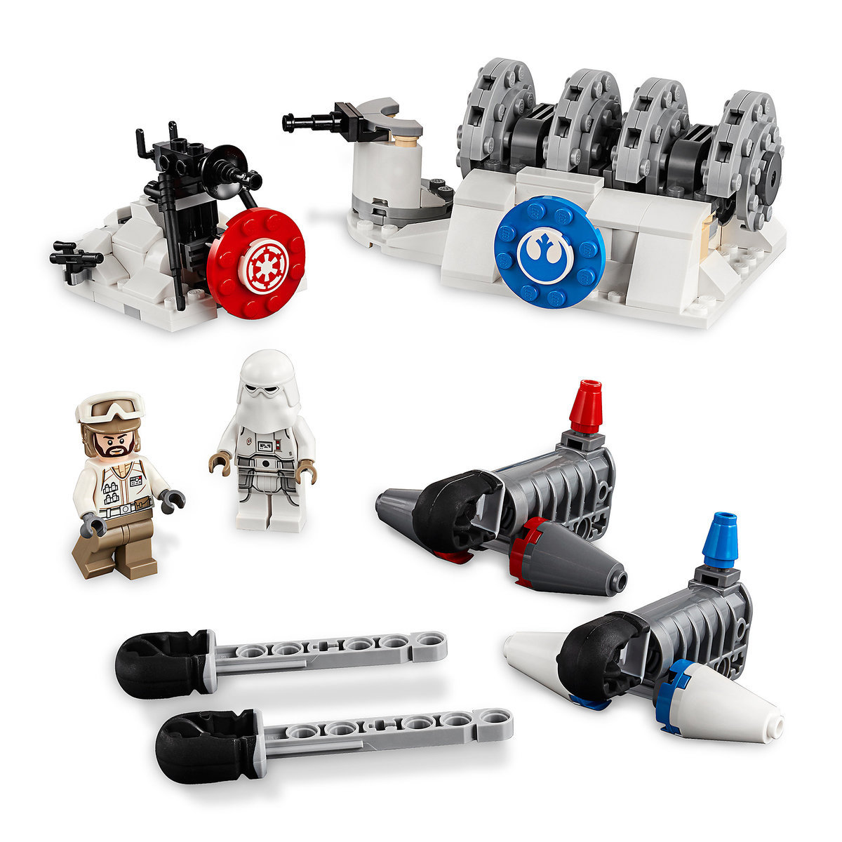 Product image of action battle hoth generator attack play set by lego star wars