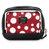 Image of Minnie Mouse Cosmetic Bag Set by Loungefly # 2