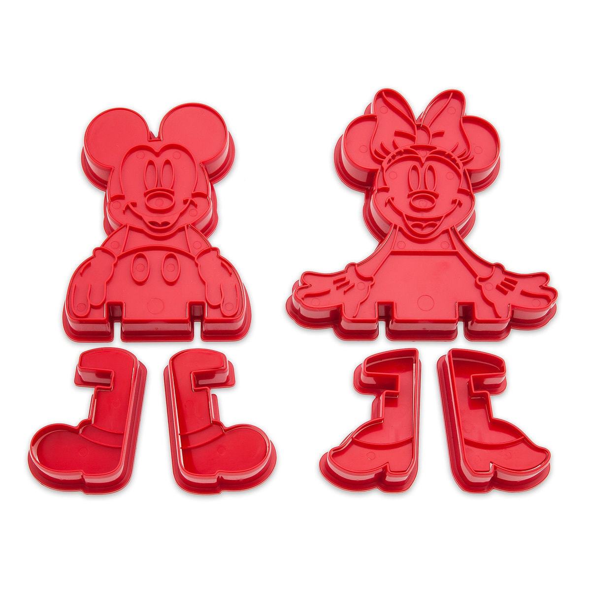 Mickey And Minnie Mouse 3d Cookie Cutter Set Disney Eats Shopdisney