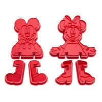 Image of Mickey and Minnie Mouse 3D Cookie Cutter Set - Disney Eats # 1