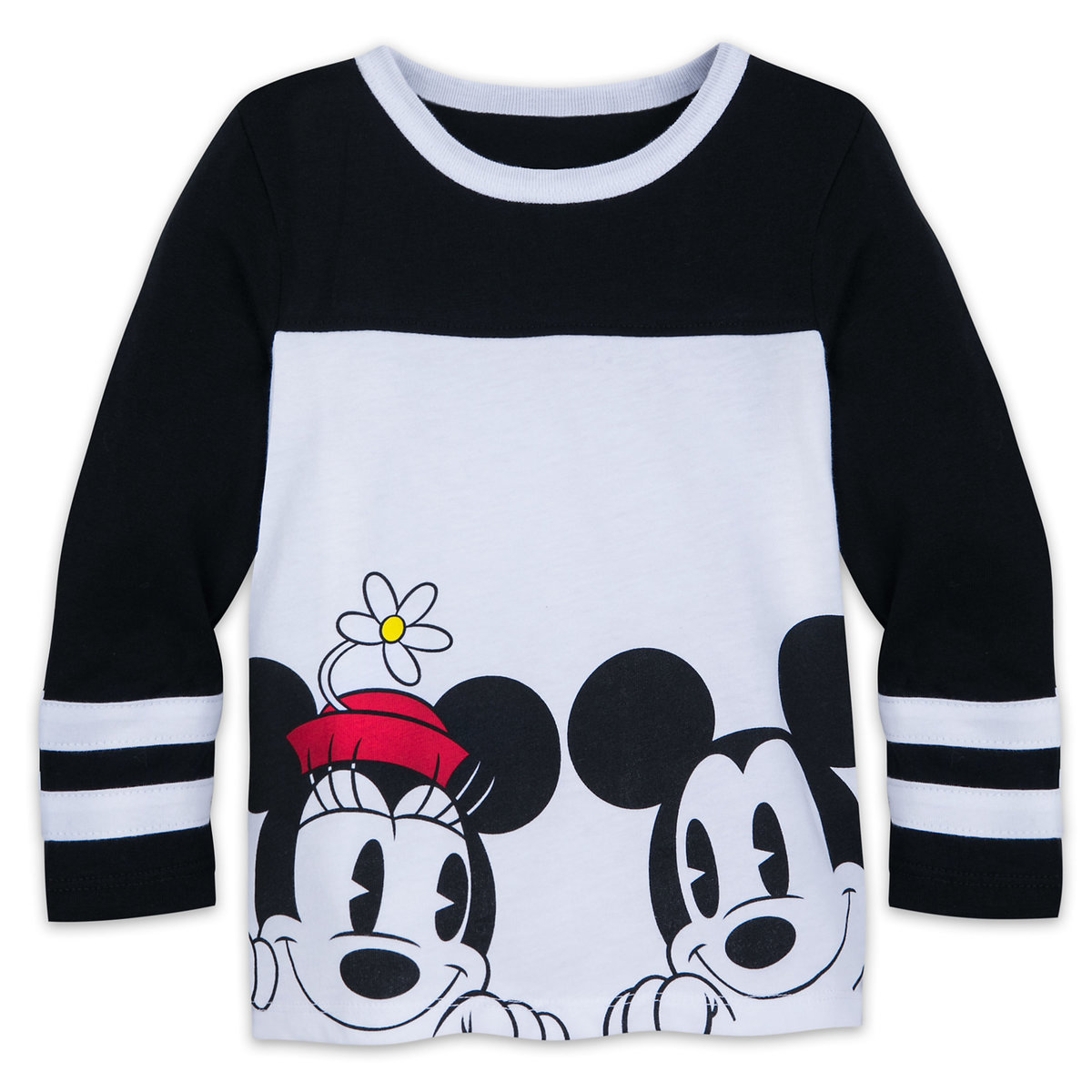 77e30379 Product Image of Mickey and Mickey Mouse Long Sleeve Shirt for Kids # 1