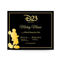 Image of D23 Gold Family Membership # 3
