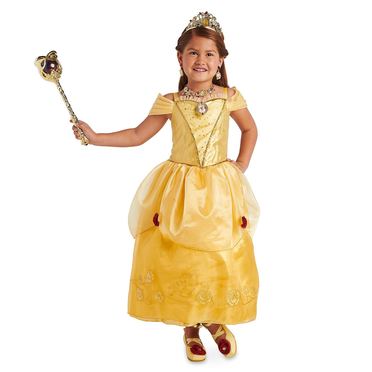 Product Image of Belle Costume for Kids - Beauty and the Beast # 2