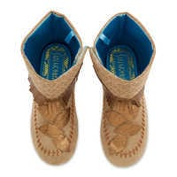 Image of Pocahontas Costume Boots for Kids # 3