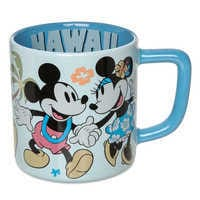 Image of Mickey and Minnie Mouse Mug - Hawaii # 1