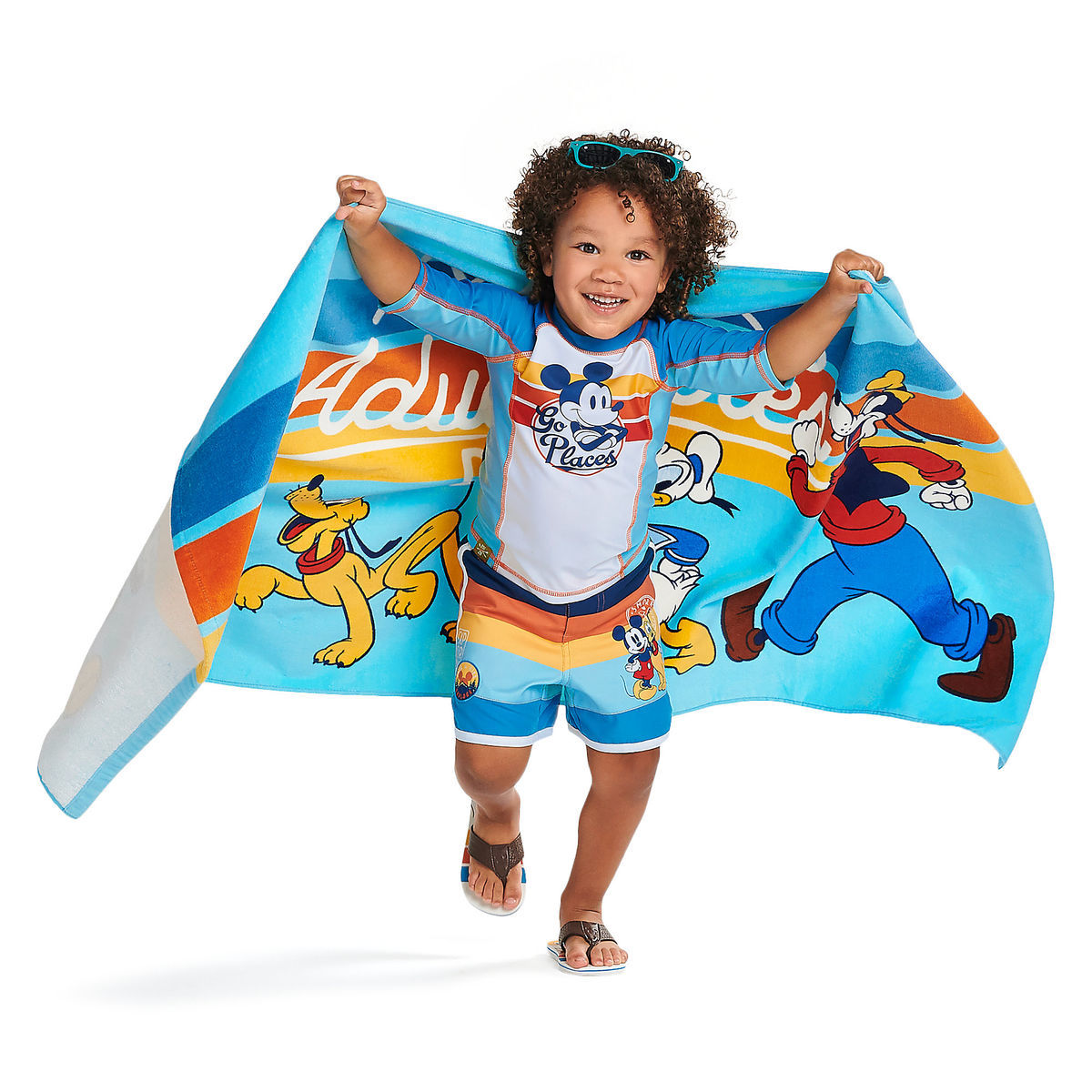 Product Image of Mickey Mouse and Friends Beach Towel - Personalizable # 2