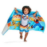 Image of Mickey Mouse and Pluto Swim Trunks for Boys # 2