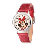 Minnie Mouse Glitter Watch - Kids