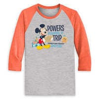Image of Mickey Mouse Family Vacation Raglan Shirt for Men - Disneyland 2019 - Customized # 2