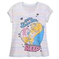 Image of Beauty and the Beast Short Sleep Set for Women # 2