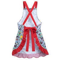 Image of Santa Mickey Mouse and Friends Holiday Apron # 2