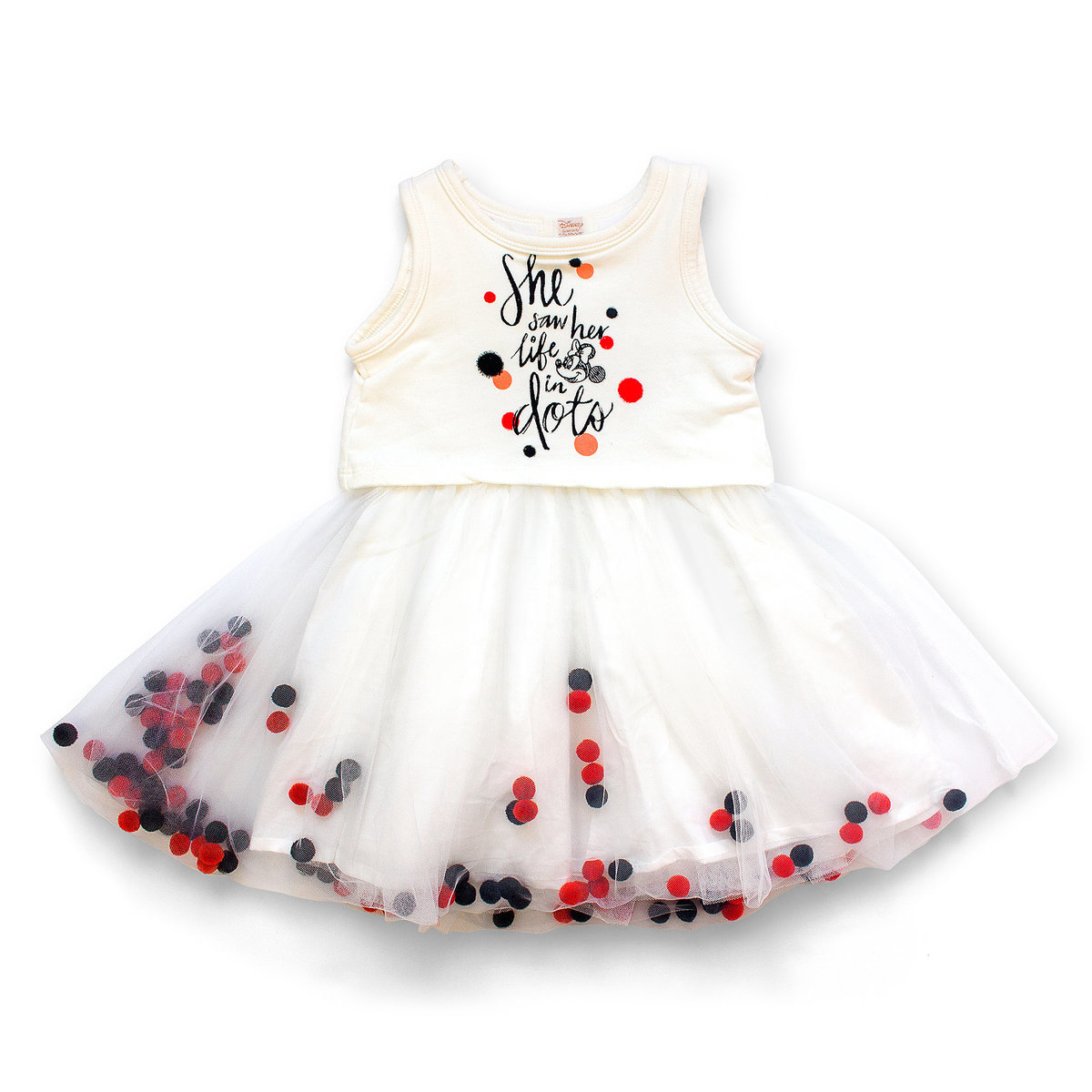 7536be7c4f Product Image of Minnie Mouse Pom-Pom Tutu Dress for Girls by Tutu Couture #