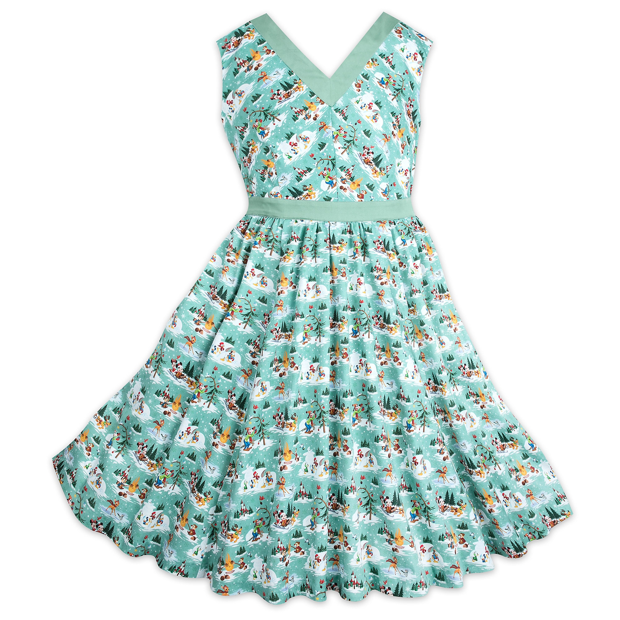 Mickey & Friends Holiday Dress - Women