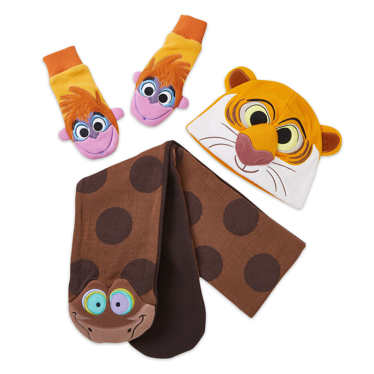 Product Image of The Jungle Book Warmwear Accessories Set - Disney Furrytale friends # 1