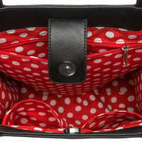 Image of Minnie Mouse Sequined Bow Tote # 4
