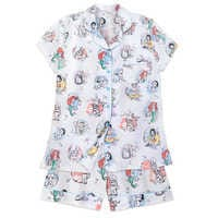 Image of Disney Animators' Collection Pajama Set for Women # 1