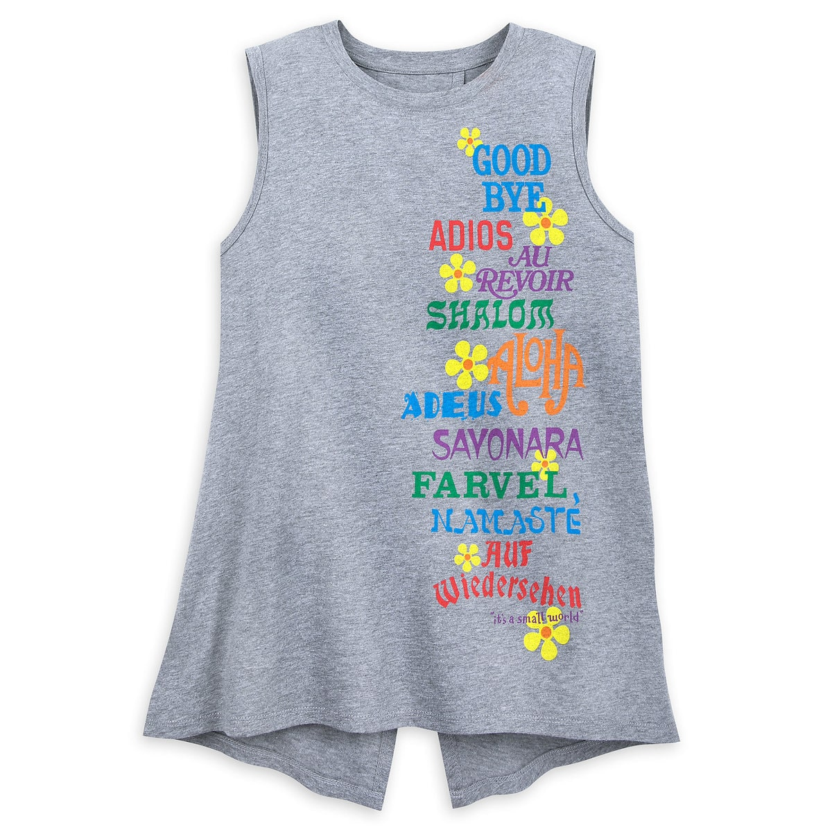 20e001e548f16d Product Image of Disney it s a small world Tank Top for Women   1