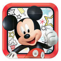 Image of Mickey Mouse On the Go Lunch Plates # 1